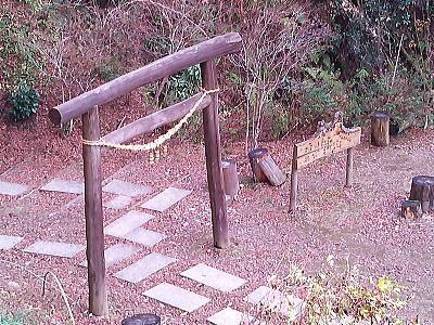 金神の滝ハイキングコース